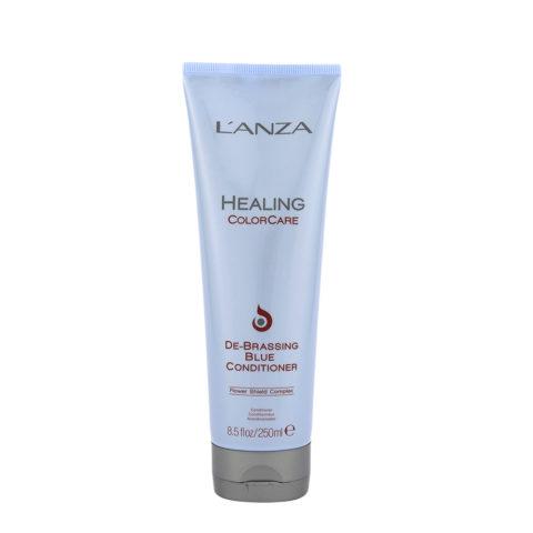 L'Anza Healing Colorcare De brassing blue conditioner 250ml - balsamo antigiallo