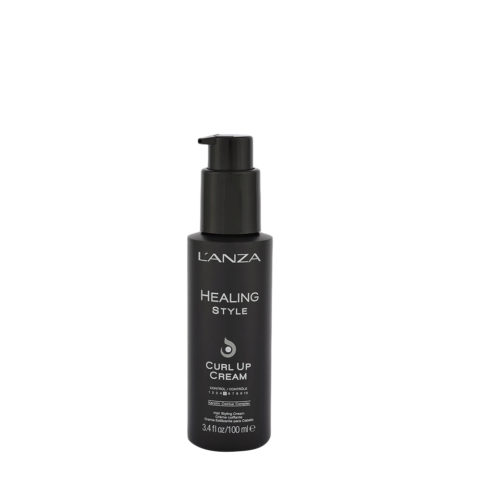 L' Anza Healing Style Curl Up Cream 100ml - crema ricci