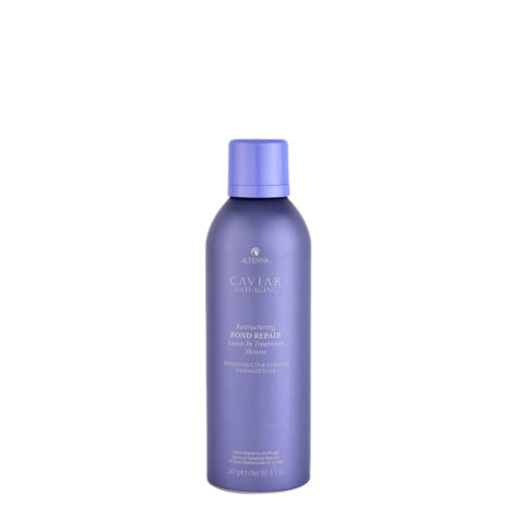 Alterna Caviar Restructuring Bond repair Leave in Treatment Mousse 241ml - schiuma riparatrice