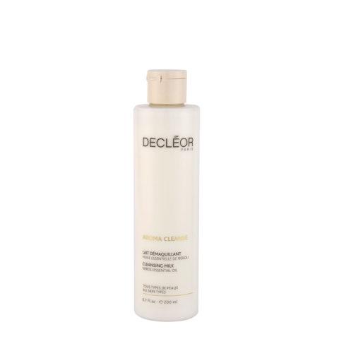 Decléor Aroma Cleanse Lait Démaquillant Essentiel 200ml - latte detergente tutti i tipi di pelle