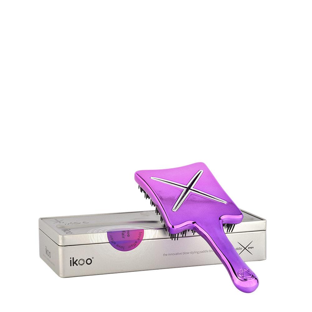 Ikoo Paddle X Pops Love affair - spazzola piatta da viaggio