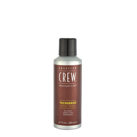 American crew Techseries Boost Spray Dry shampoo 200ml - shampoo a secco
