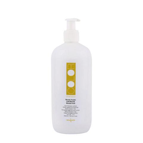 Naturalmente Color Defence Shampoo Biondo Freddo 500ml - antigiallo per capelli biondi freddi o bianchi