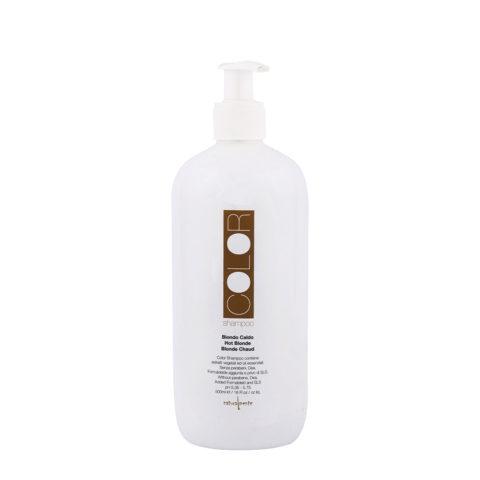 Naturalmente Color Defence Shampoo Biondo Caldo 500ml - per capelli biondi dorati