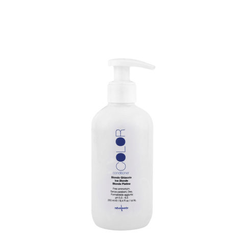 Naturalmente Color Defence Conditioner Biondo Ghiaccio 250ml - balsamo antigiallo per capelli biondi freddi o bianchi