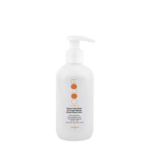 Naturalmente Color Defence Conditioner Biondo Caldo Rame 250ml - balsamo per capelli biondi o ramati