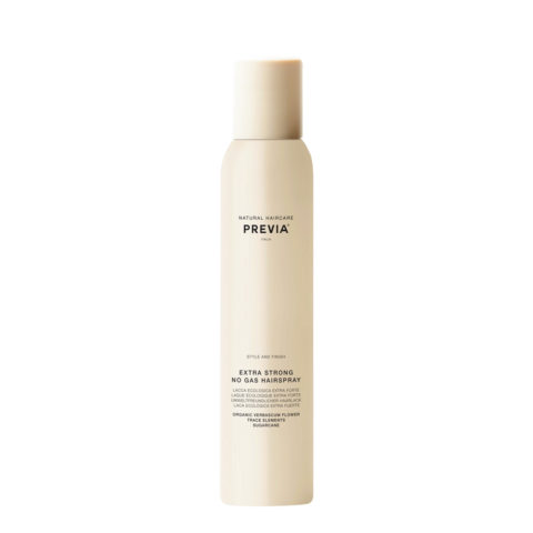 Previa Extra strong no gas hairspray 200ml - lacca ecologica extra forte