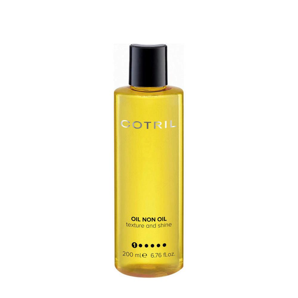 Cotril Creative Walk Oil Non Oil Texture and shine 200ml - Olio Di Bellezza Per Capelli