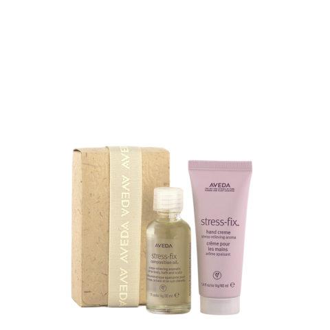 Aveda Bodycare Kit Stress Relief - olio e crema mani aromatici