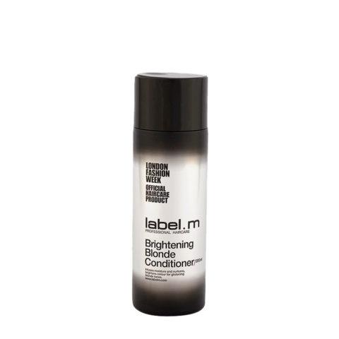Label.M Brightening Blonde Conditioner 200ml - balsamo capelli biondi