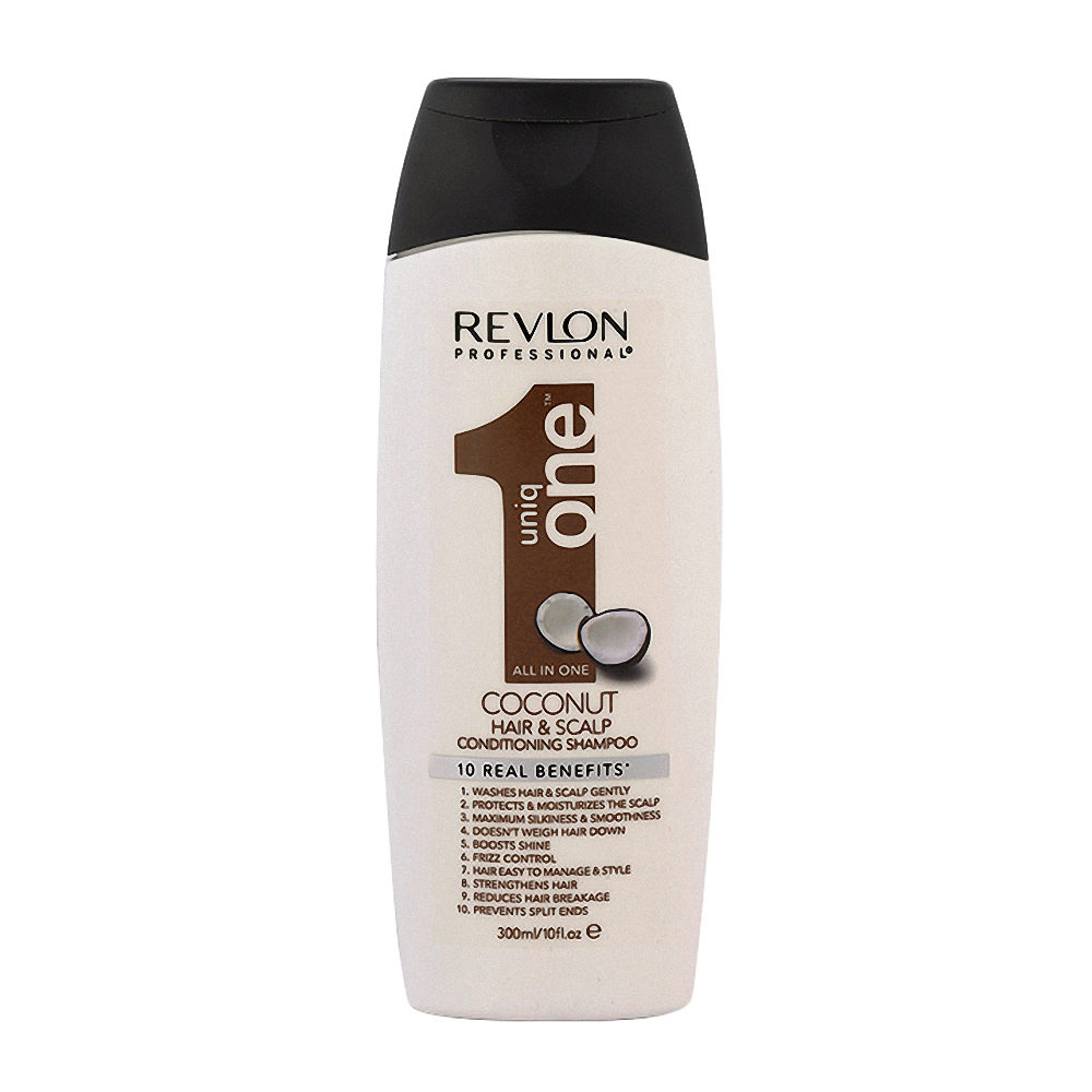 Uniq One Coconut Hair and scalp Conditioning shampoo 300ml - shampoo e balsamo