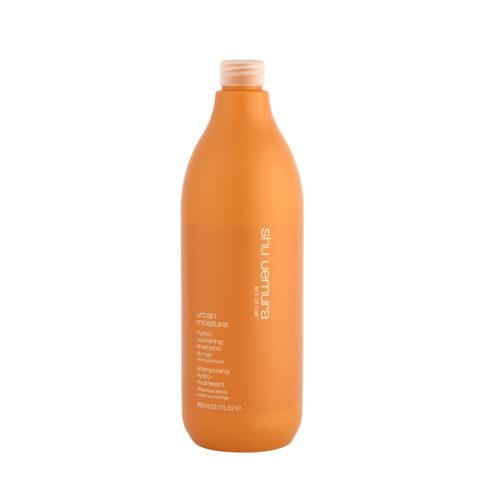 Shu Uemura Urban Moisture Hydro-nourishing Shampoo 980ml - shampoo idratante