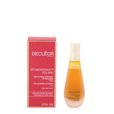 Decléor Aromessence Solaire Sérum huile Activateur de bronzage 15ml - siero attivatore abbronzatura