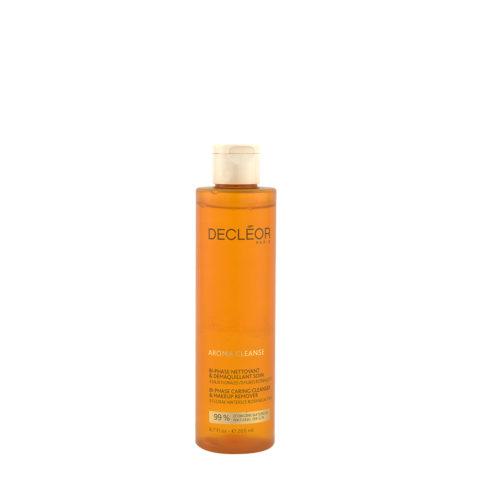 Decléor Aroma Cleanse Bi phase Nettoyant & Demaquillant Soin 200ml - struccante viso bifasico