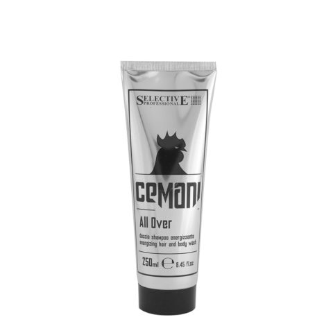 Selective Professional Cemani All Over Doccia Shampoo Energizzante 250ml
