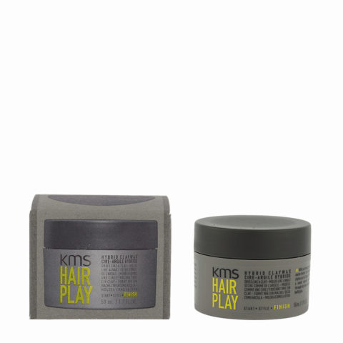 KMS Hair Play Hybrid Claywax 50ml - Cera Opaca Tenuta Forte