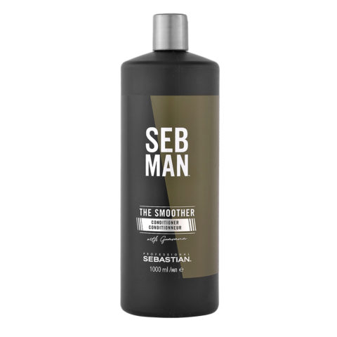 Sebastian Man The Smoother Rinse Out Conditioner 1000ml - Balsamo Idratante
