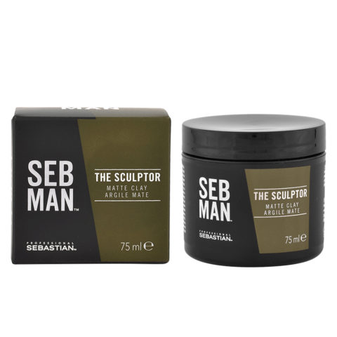 Sebastian Man The Sculptor Matte Clay 75ml - Cera Argilla Opaca