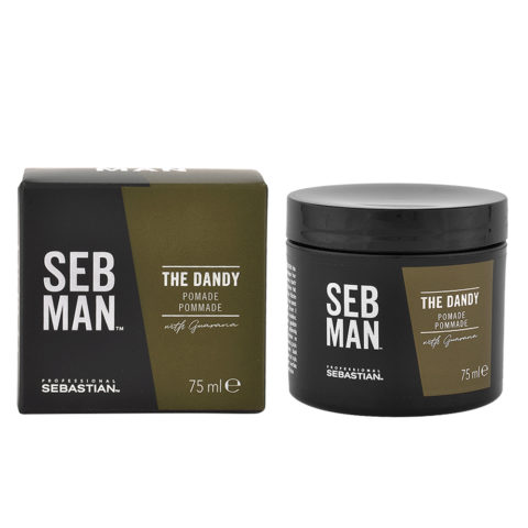 Sebastian Man The Dandy Shiny Pommade 75ml - Pomata Lucidante leggera