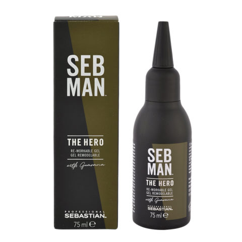 Sebastian Man The Hero Re Workable Gel 75ml - Gel Tenuta forte