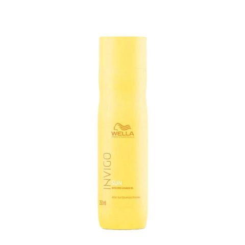 Wella Invigo Sun After Sun Cleansing Shampoo 250ml - shampoo dopo sole