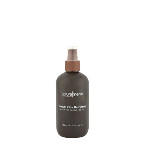 Naturalmente Orange thin hair spray 250ml - spray capelli sottili all'arancio