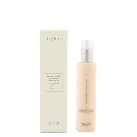 Naturalmente Breathe Moisturizing Cleanser Emulsion 200ml - detergente viso pelli secche