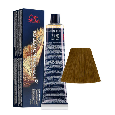 77/0 Biondo Medio Intenso Wella Koleston perfect Me+ Pure Naturals 60ml