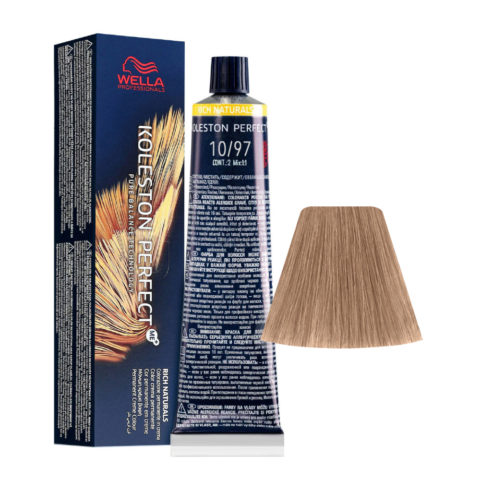 10/97 Biondo Platino Cendrè Sabbia Wella Koleston perfect Me+ Rich Naturals 60ml