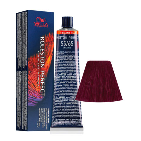 55/65 Castano Chiaro Intenso Violetto Mogano Wella Koleston perfect Me+ Vibrant Reds 60ml
