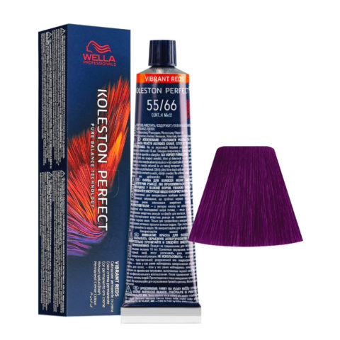 55/66 Castano Chiaro Intenso Violetto Intenso Wella Koleston perfect Me+ Vibrant Reds 60ml