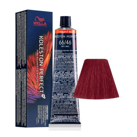 66/46 Biondo Scuro Intenso Rame Violetto Wella Koleston perfect Me+ Vibrant Reds 60ml