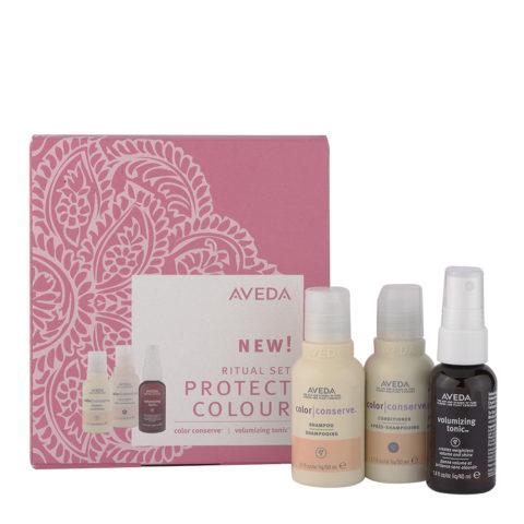 Aveda Color Conserve Ritual Set - Kit da viaggio per capelli colorati