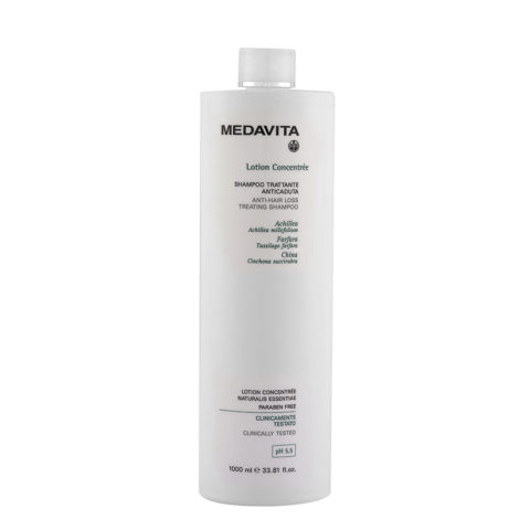 Medavita Cute Lotion concentree Shampoo trattante anticaduta pH 5.5  1000ml