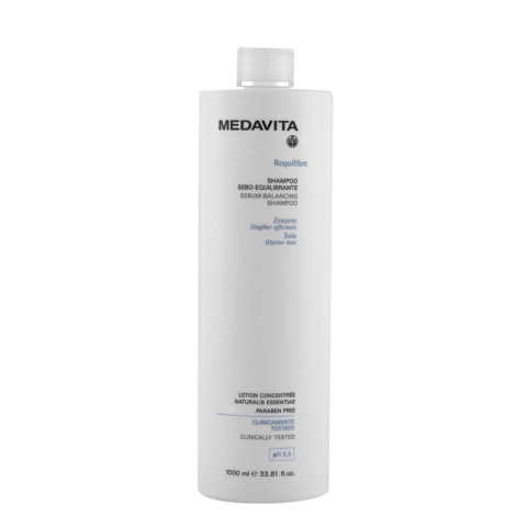 Medavita Cute Requilibre Shampoo sebo-equilibrante pH 5.5  1000ml