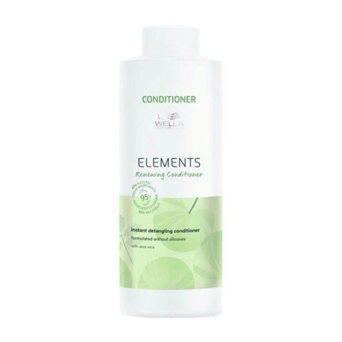 Wella Professional Elements Lightweight Renewing Conditioner 1000ml - balsamo rigenerante