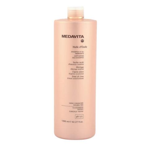 Medavita Lunghezze Huile d'etoile Shampoo di Oli Inebriante pH 5.5  1250ml