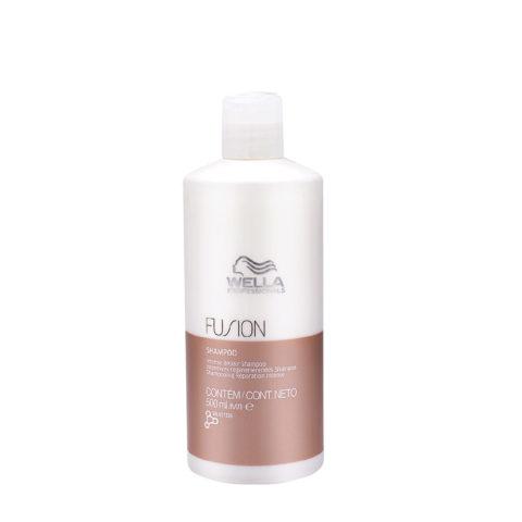 Wella Fusion Shampoo 500ml - shampoo di riparazione