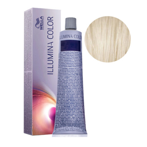 10/1 Biondo Platino cenere Wella Illumina Color 60ml