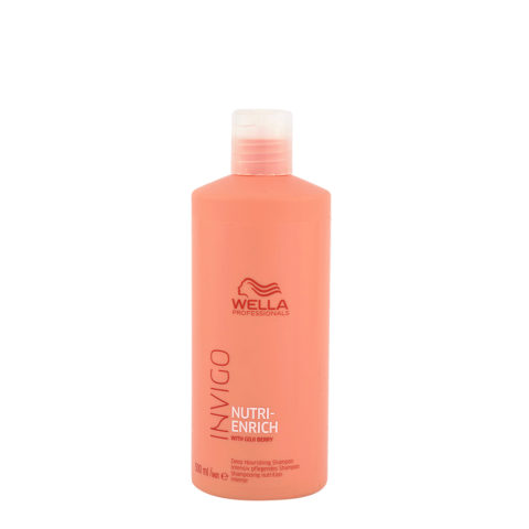 Wella Invigo Nutri Enrich Deep Nourishing Shampoo 500ml - shampoo nutriente