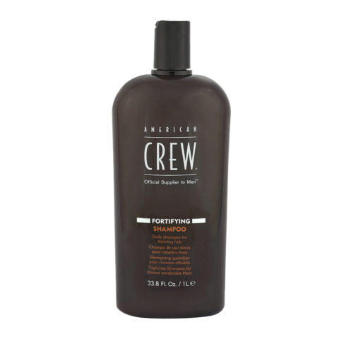 American Crew Fortifying Shampoo 1000ml - shampoo fortificante