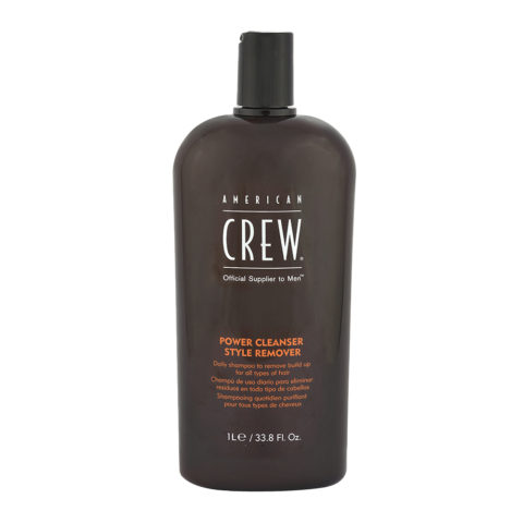 American crew Power cleanser style remover shampoo 1000ml - shampoo quotidiano