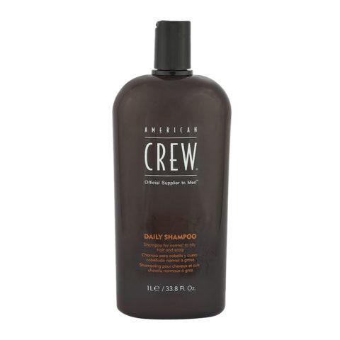 American crew Classic Daily shampoo 1000ml - shampoo quotidiano