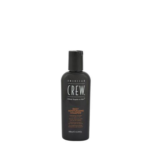 American crew Classic Daily moisturizing shampoo 100ml - shampoo idratante quotidiano