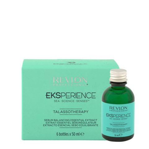 Eksperience Talassotherapy Estratto Essenziale Sebo equilibrante 6x50ml - Per Cute Grassa