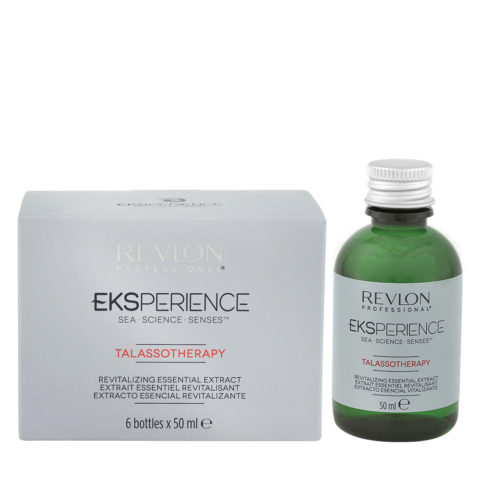 Eksperience Talassotherapy Estratto Essenziale Rivitalizzante 6x50ml - Per Capelli Fini E Indeboliti
