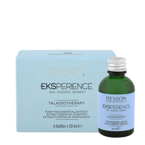 Eksperience Talassotherapy Estratto Essenziale Purificante 6x50ml - Per Cute Con Forfora