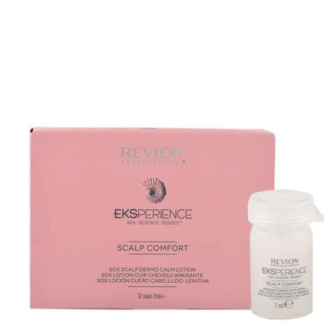Eksperience Scalp Comfort Sos Fiale Dermo Lenitive per Cute 12x7ml - fiale per cute irritata