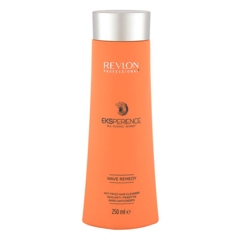 Eksperience Wave Remedy Hair Cleanser Shampoo 250ml - Anticrespo Per Capelli Crespi