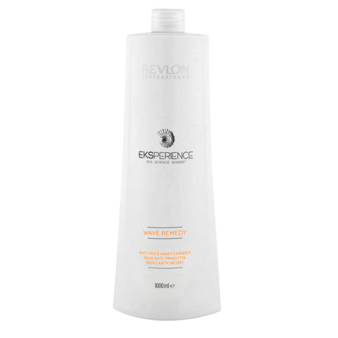Eksperience Wave Remedy Hair Cleanser Shampoo 1000ml - anticrespo per capelli crespi